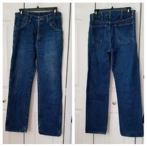 Rustler blue jeans size 31x30
